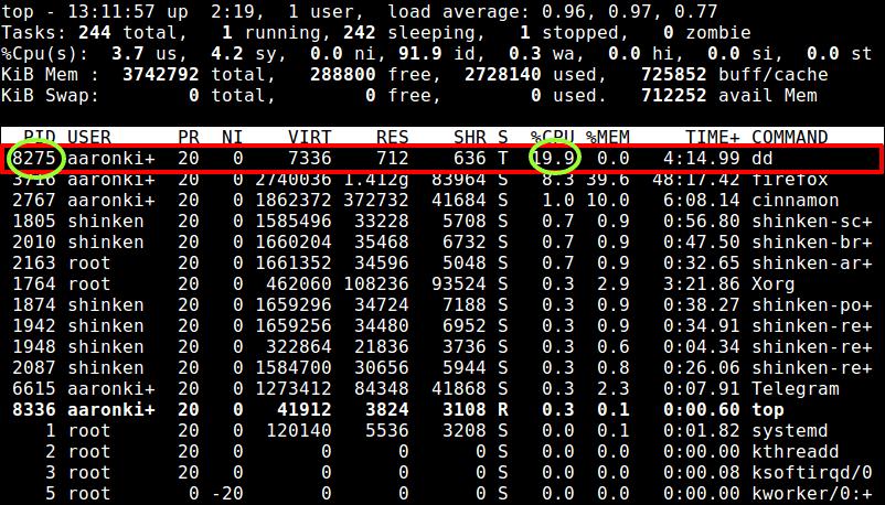 将CPU使用限制为20%